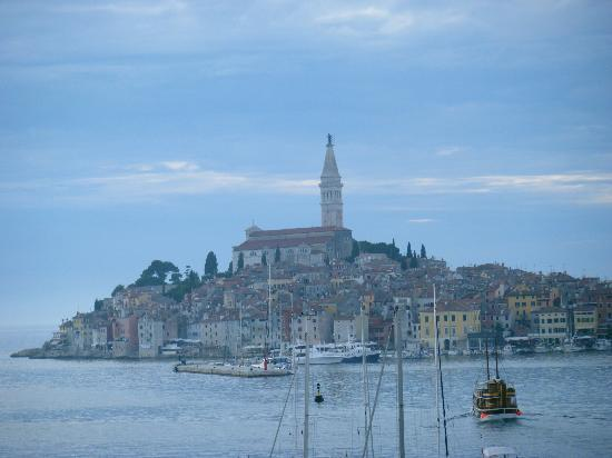 View of Rovinj from the Hotel Park