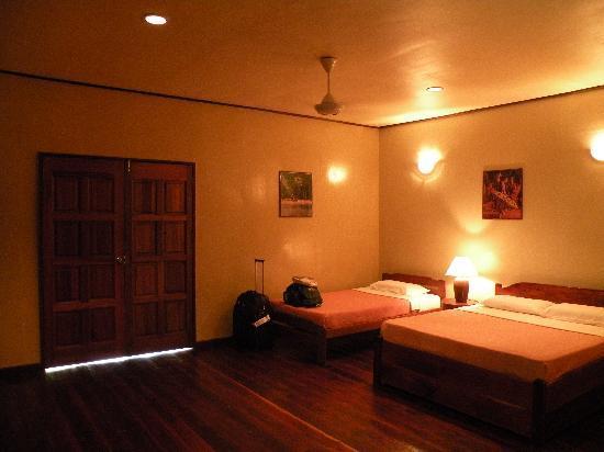 Melapi Lodge Sukau: interno della stanza1