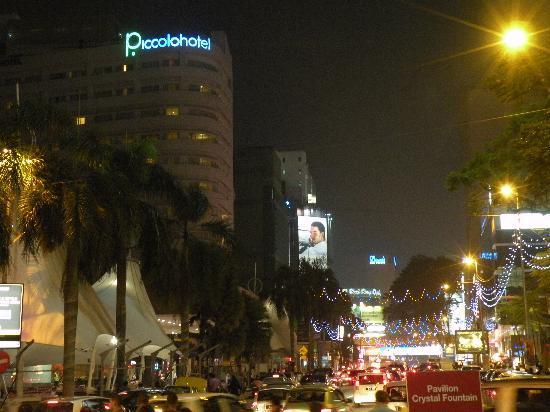 Ansa Kuala Lumpur: Bukit Bintang notturno