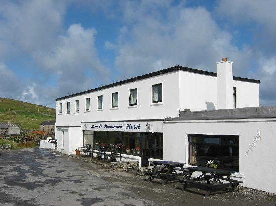 Doonmore Hotel : Outside of main entrance