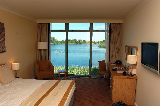 De Vere Cotswold Water Park: From a standard room (lake view)