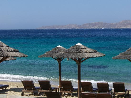 Mykonos Grand Hotel & Resort: la spiaggia