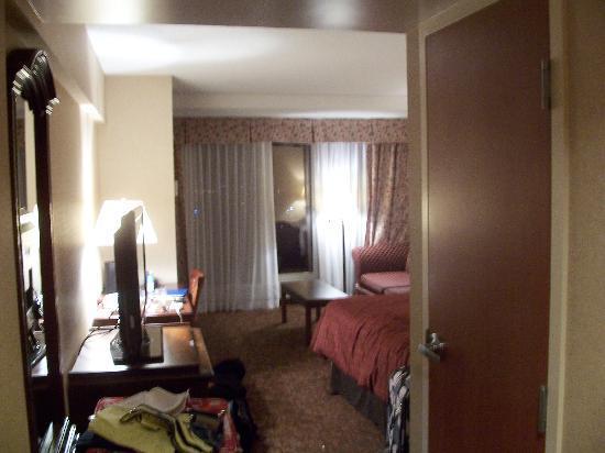 โรงแรมเชอราตันออนเดอะฟอลส์: View when you enter the room.