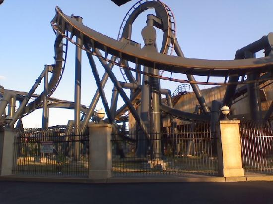 Six Flags St Louis: total rush