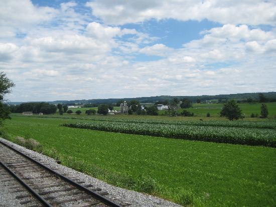 Strasburg Rail Road: beautful scenery