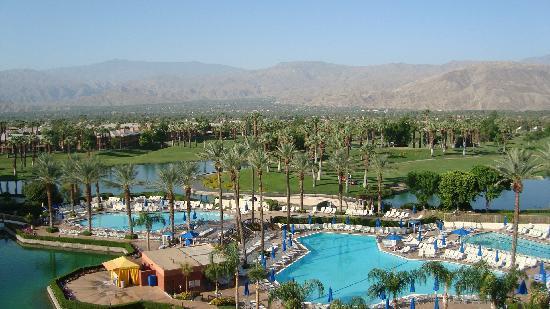 JW Marriott Desert Springs Resort & Spa: View from our room