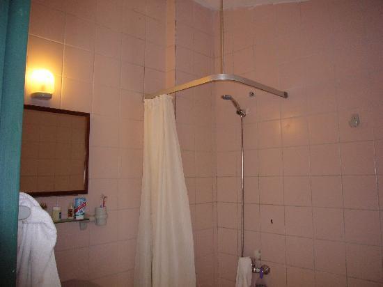 Romance Club Hotel: shower