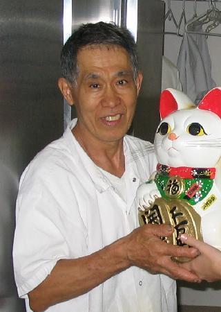 Fuji Japanese Restaurant: The sushi chef!