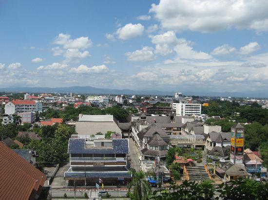 โรงแรมเชียงใหม่ ออร์คิด: View from teh 10th Floor