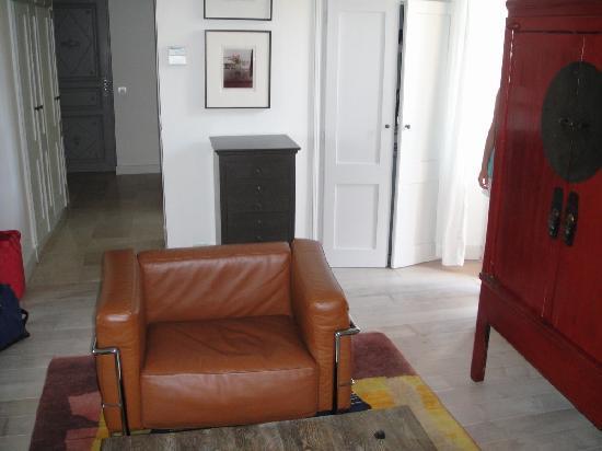 Pastis Hotel St Tropez: living room