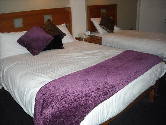 Imperial Hotel Galway: Il lettone
