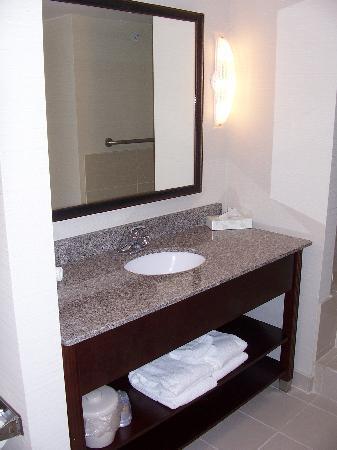 Holiday Inn Express Hotel & Suites Brockville: The bathroom vanity
