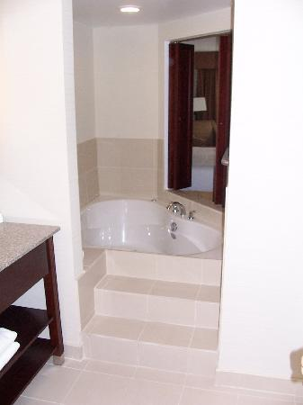 Holiday Inn Express Hotel & Suites Brockville: The whirlpool tub