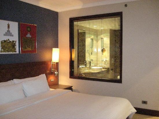 โนโวเทล แบงคอค สุวรรณภูมิ แอร์พอร์ท: Wonderful King size bed