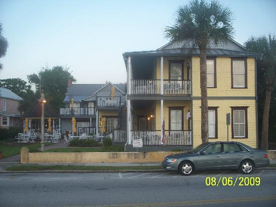 Bayfront Marin House Historic Inn: Best Bed & Breakfast in St. Augustine