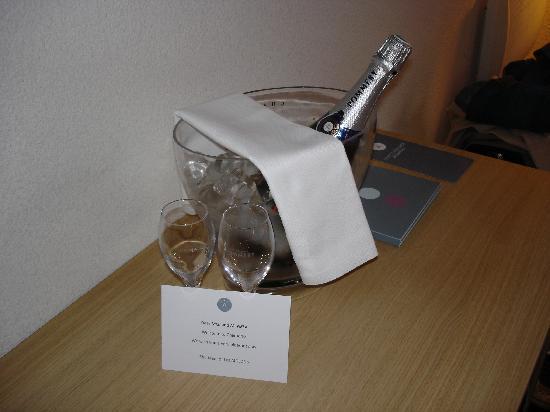 Le Refuge des Aiglons: Wellcome drink