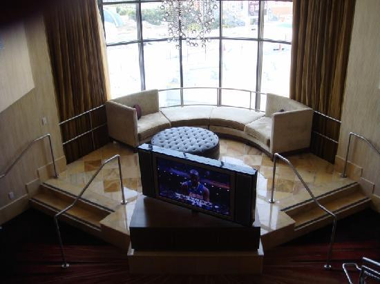 โรงแรมซีซาร์ พาเลส: view from upstairs