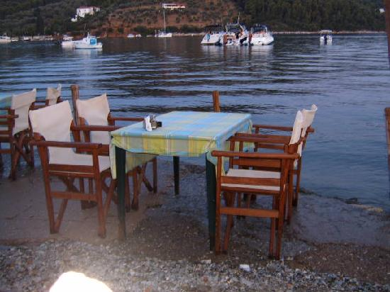 Oasis: shirley valentine table at the old windmill
