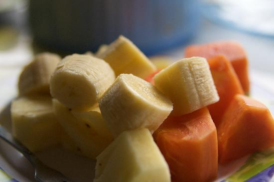 ซาเนีย บังกะโล: Fruit plate