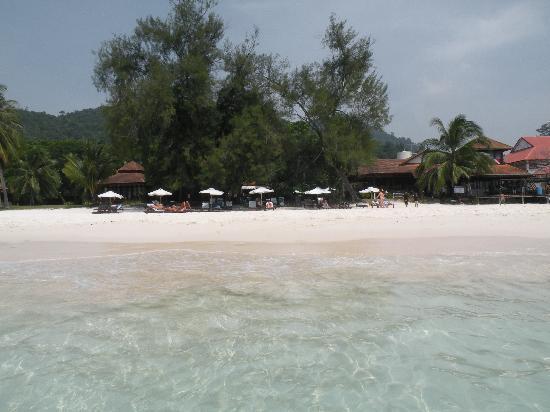Coral Redang Island Resort: vista dal mare
