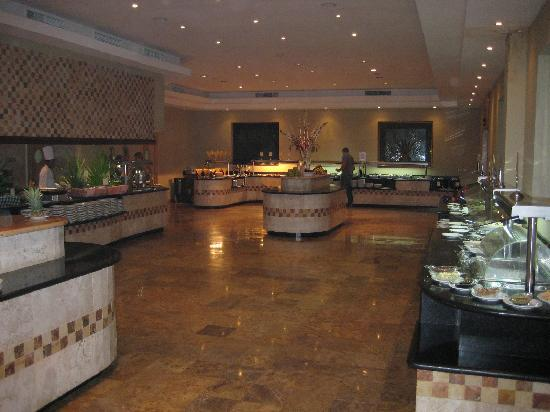 Valentin Imperial Riviera Maya: Buffet area (breakfast and lunch only)
