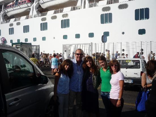 Miles & Miles Tour Company - Tours: The girls with Roberto