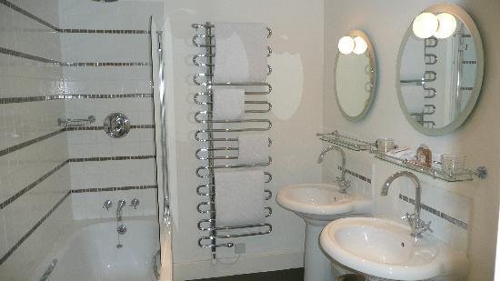 Malmaison Brighton: great bathroom