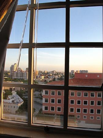 Hyatt Regency Coral Gables: The view from our room