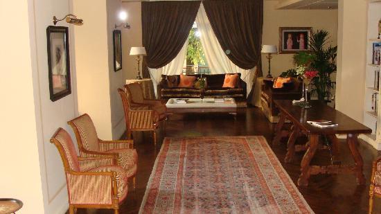 Hotel Francia e Quirinale: The reading room
