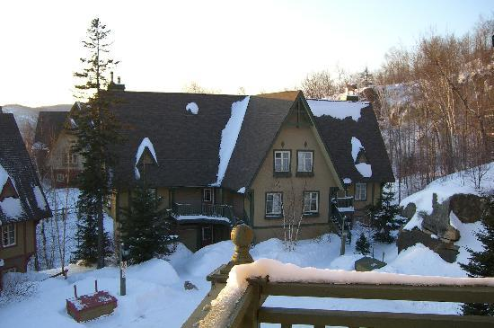 ‪‪Tremblant Sunstar Condominiums‬: View from Deck‬