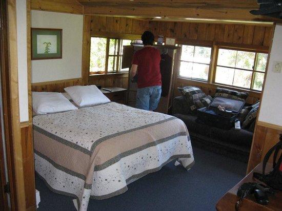 Grand Escape Cottages: inside Eagle's Nest
