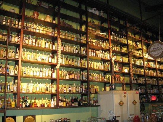 Bar do Arnesto: The Wall of Cachaça