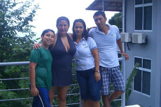 Villa Manuel Antonio: new friends(staff)