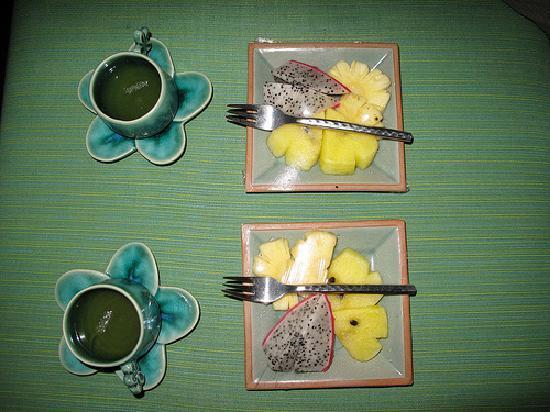 ลยานะ รีสอร์ท แอนด์ สปา: They provided tea and fresh fruit after every massage
