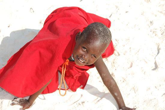Sunset Beach Resort Zanzibar: Bambina masai