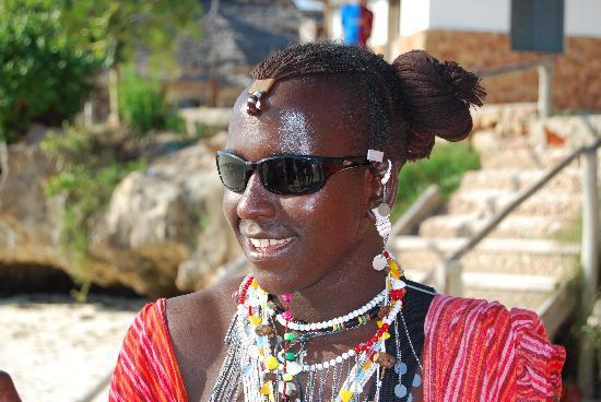 """Sunset Beach Resort Zanzibar: Masai detto """"Peppino di Capri"""""""