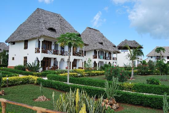 Sunset Beach Resort Zanzibar: Panoramica del villaggio