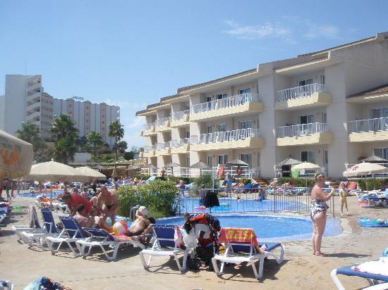 HSM Calas Park: The pool area