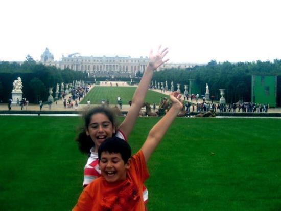 แวร์ซาย, ฝรั่งเศส: Versailles gardens