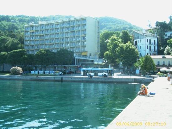 ทริเอสเต, อิตาลี: In the second morning at the Adriatico