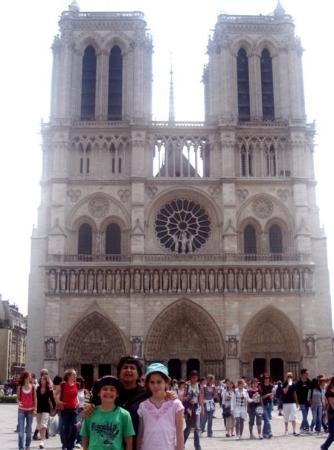มหาวิหารน็อทร์-ดาม: Notre Dame Cathedral, Paris