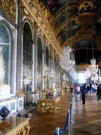 แวร์ซาย, ฝรั่งเศส: Hall Of Mirrors, Versailles