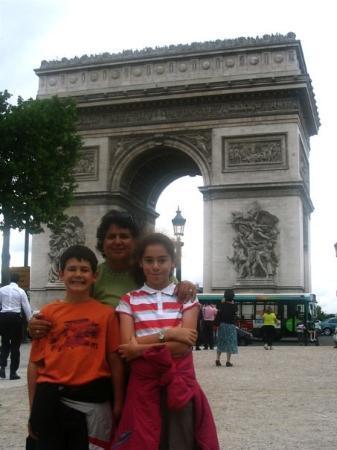 ประตูชัย: Arc de Triomphe, Paris