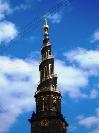 โคเปนเฮเกน, เดนมาร์ก: the church of our saviour was closed