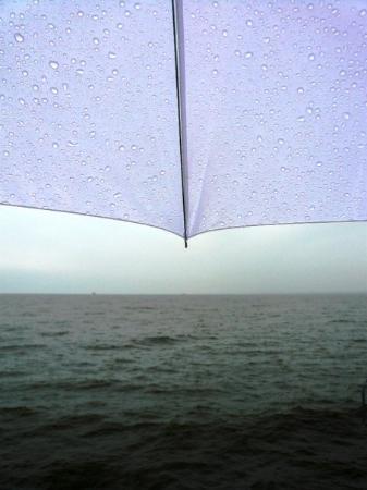 Usedom, Tyskland: it was raining