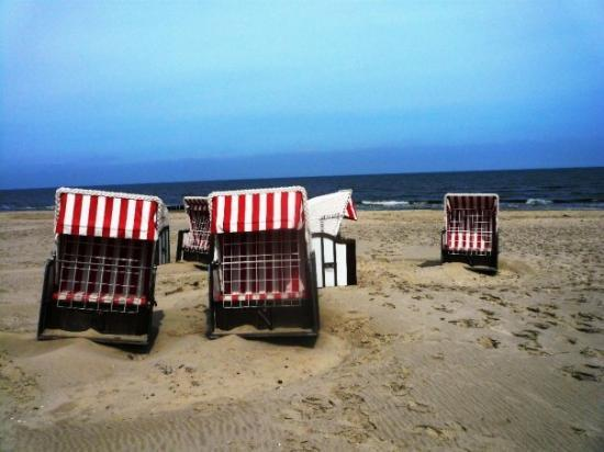 Usedom, เยอรมนี: red