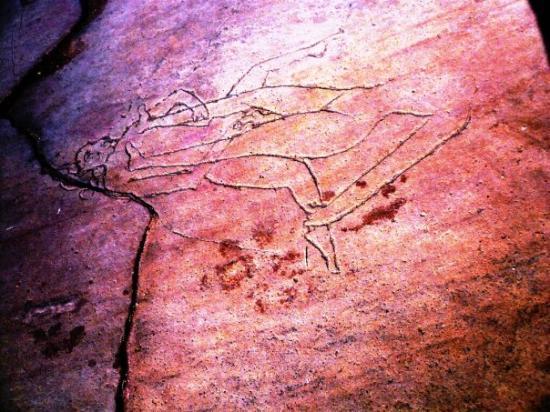 ขจุราโห, อินเดีย: a sketch on the ground