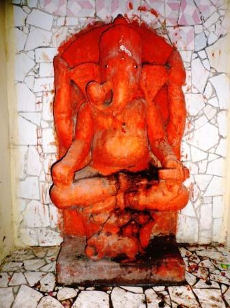พาราณสี, อินเดีย: a Ganesh shrine