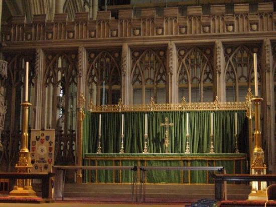 ยอร์ค, UK: Altar