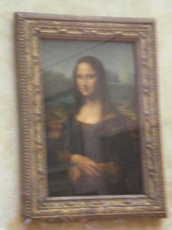 พิพิธภัณฑ์ลูฟวร์: Monalisa atrapada en cristal